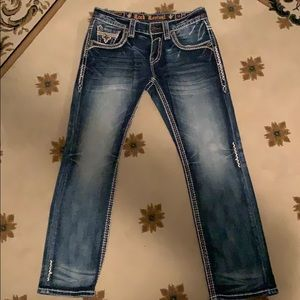 Rock Revival James Relaxed Straight Size 31